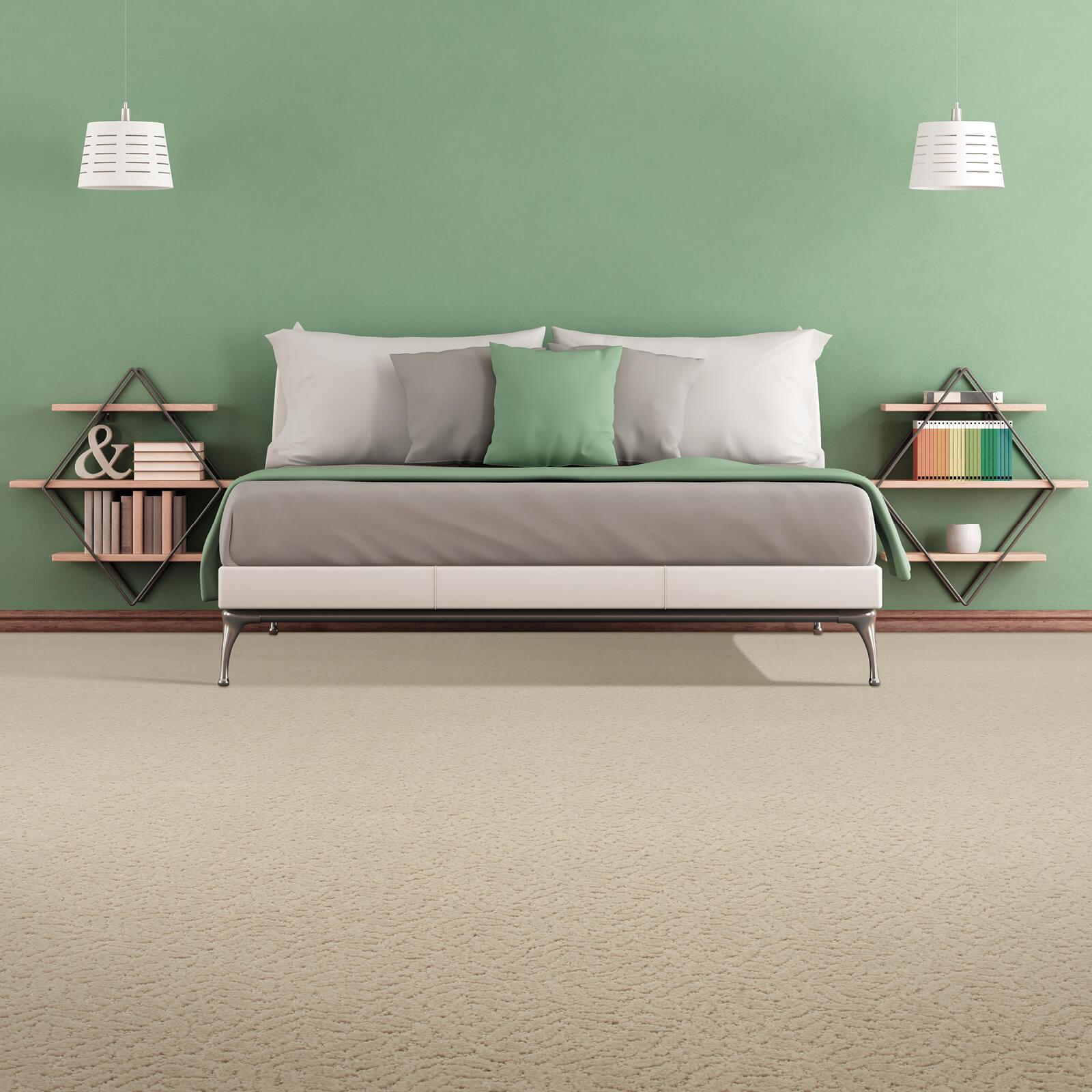 Bedroom view | J/K Carpet Center, Inc