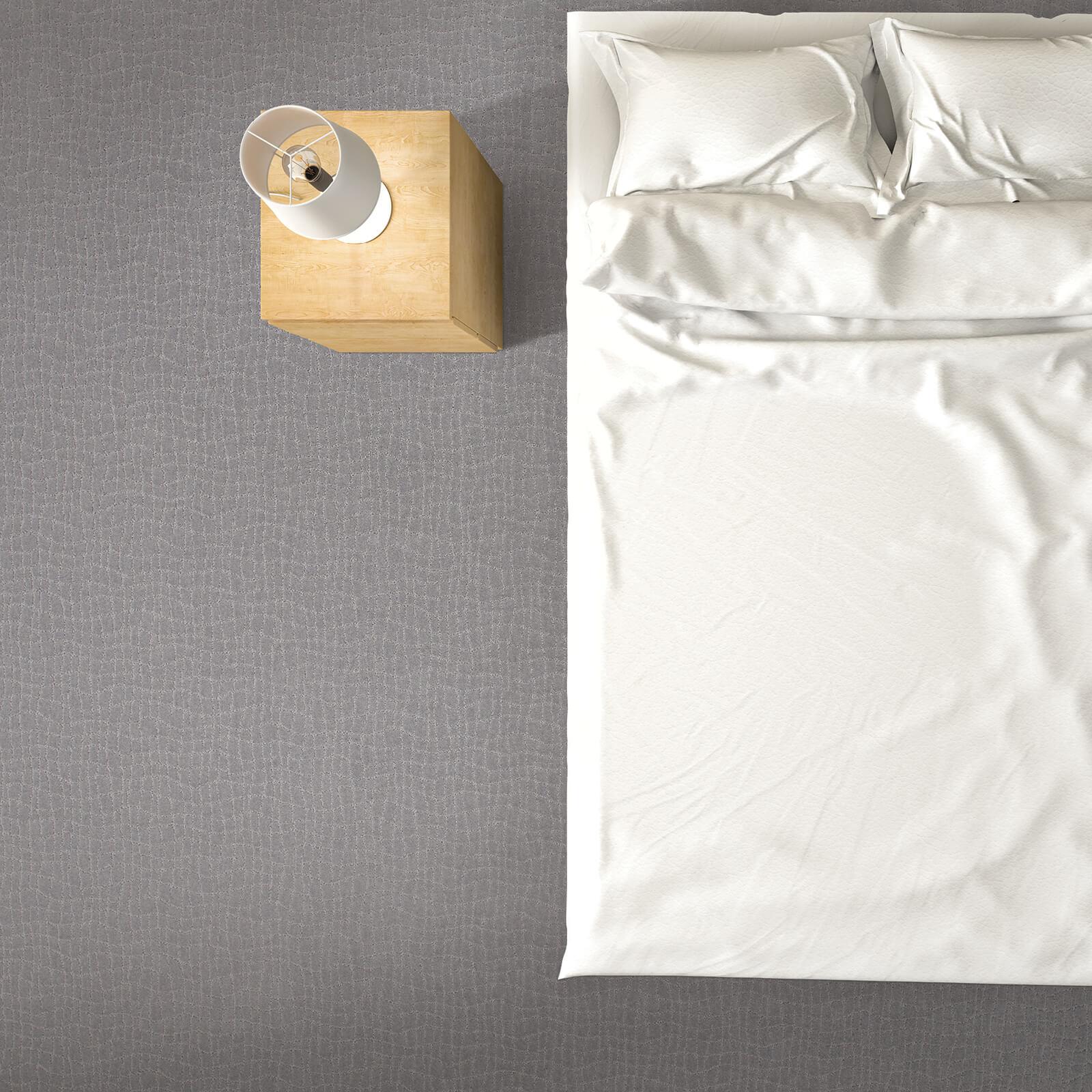 Posh appeal of bedroom | J/K Carpet Center, Inc