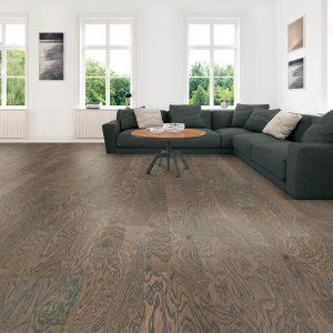 Spacious modern living room | J/K Carpet Center, Inc
