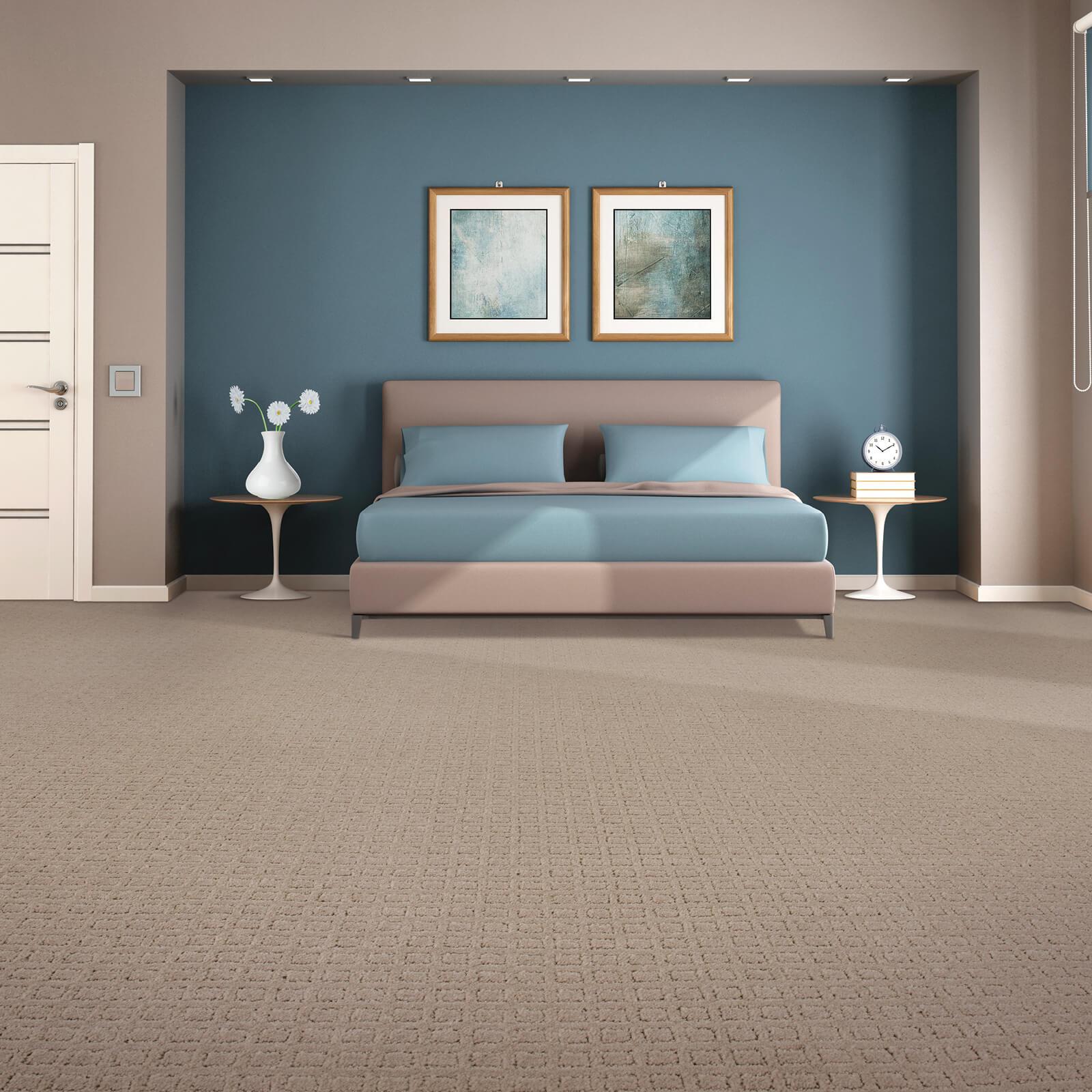 Traditional Beauty of bedroom | J/K Carpet Center, Inc