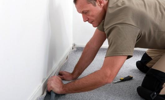 Carpet installation by professional | J/K Carpet Center, Inc