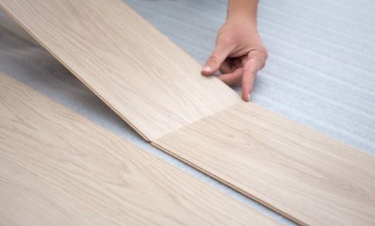 Installing luxury vinyl tile flooring in Salem, OR | J/K Carpet Center, Inc