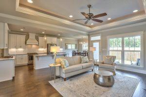Living room interior | J/K Carpet Center, Inc