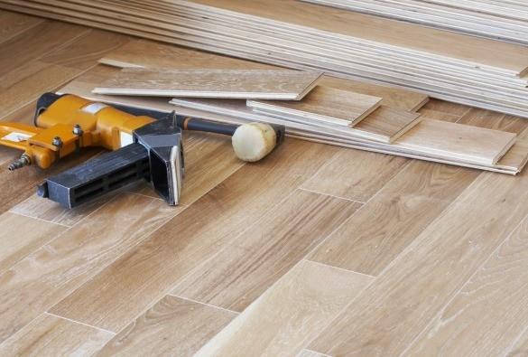 Hardwood installation | J/K Carpet Center, Inc